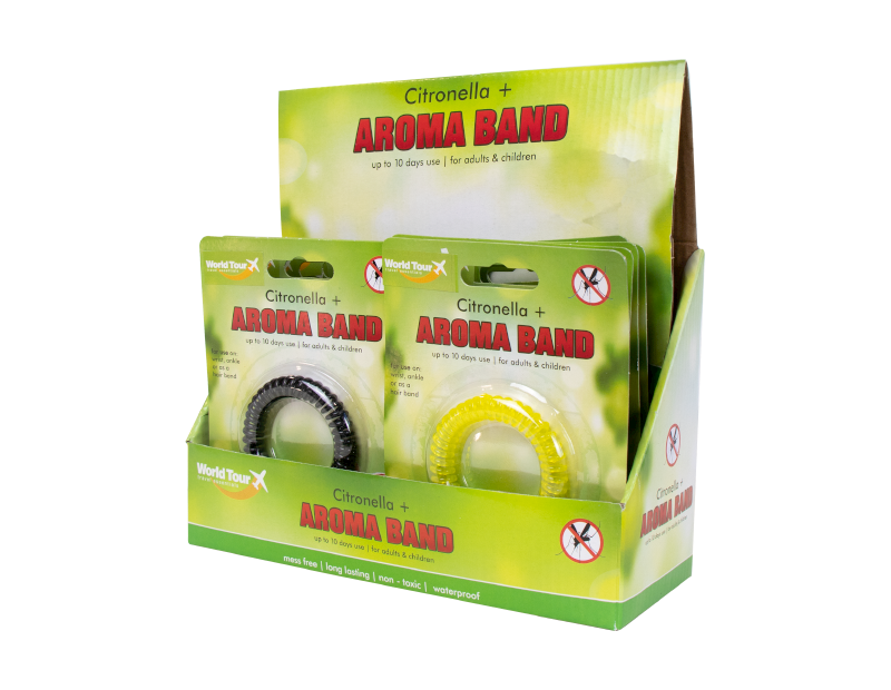 Citronella Aroma Band With PDQ