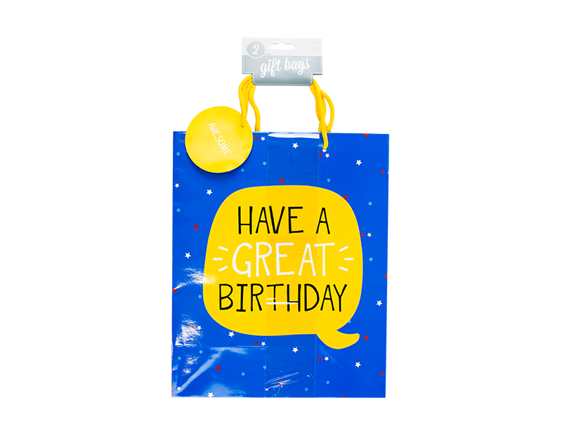 Large Birthday Gift Bags
