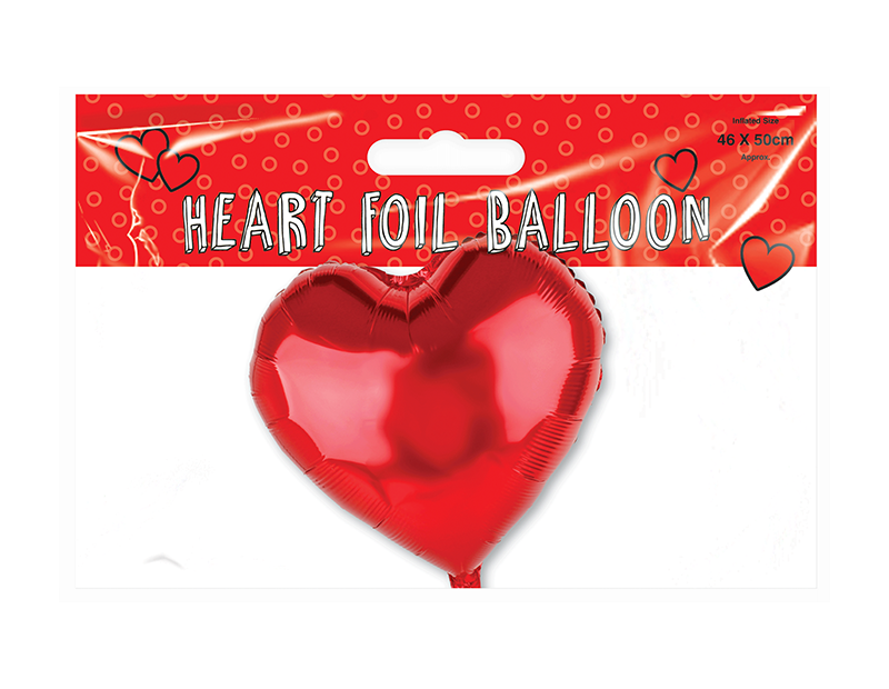 Valentines Day Heart Foil Balloon
