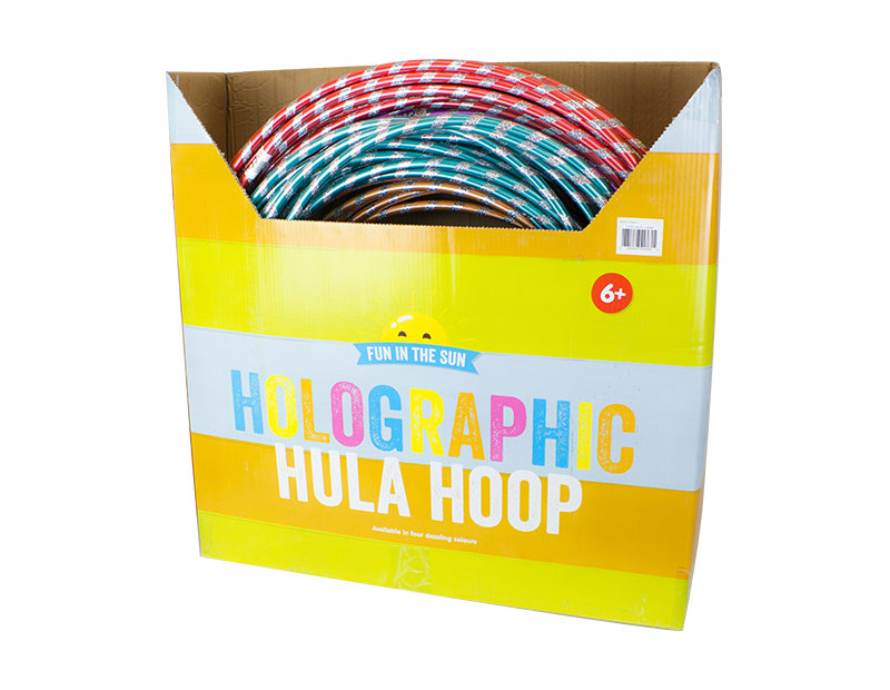 Holographic Hula Hoop With PDQ