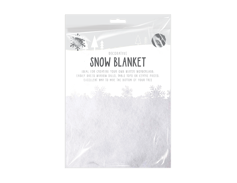 Christmas Snow Blanket 70cm x 50cm
