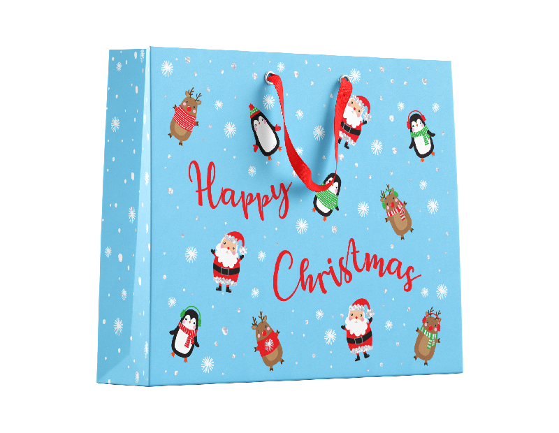 Christmas Luxury Large Cute Gift Bag