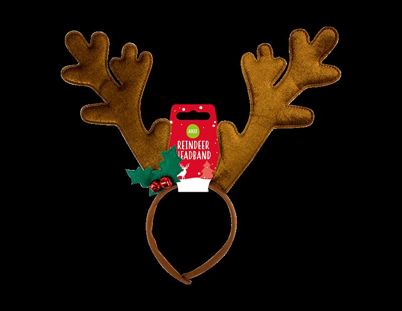 Christmas Reindeer Antlers Headband