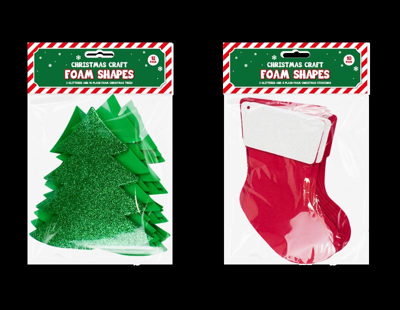Christmas Craft Large Foam Shapes