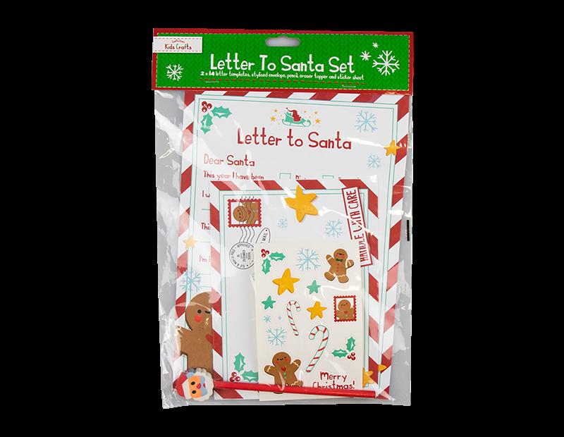 Christmas Letter To Santa Pack