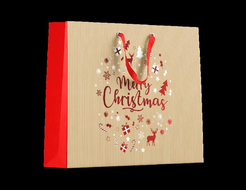 Traditional Christmas Luxury Large Gift Bag