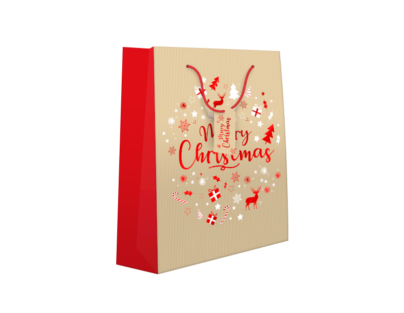 Traditional Christmas Luxury Extra Large Gift Bag