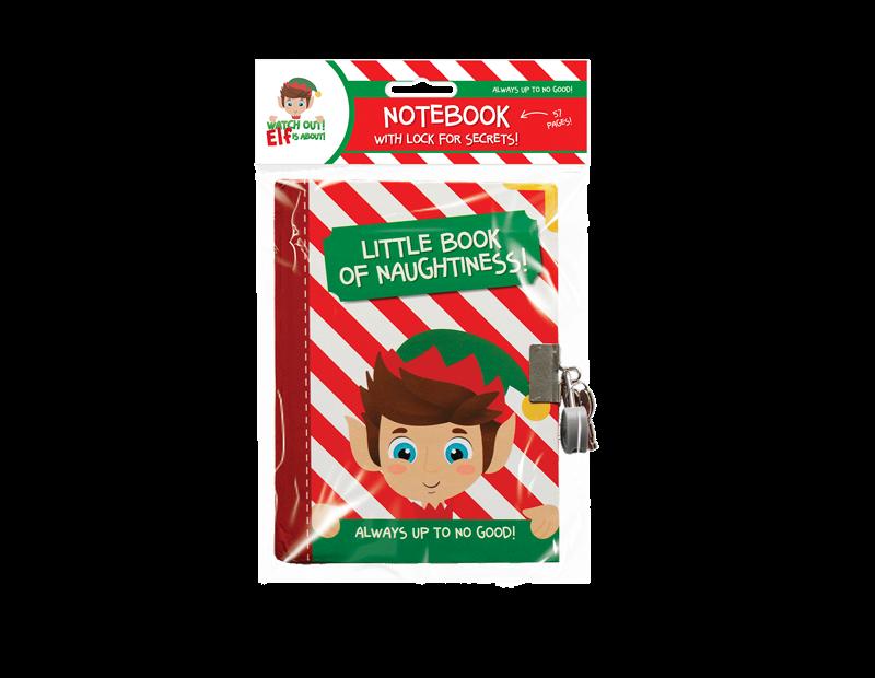 Elf Lockable Notebook