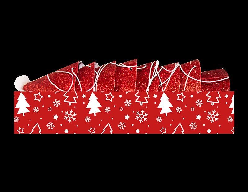 Mini Santa Hats 8 Pack