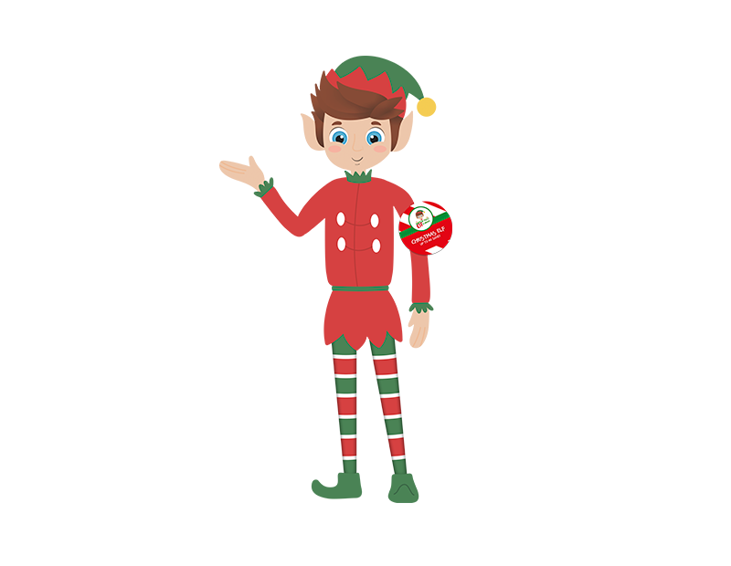 "Naughty Elf Doll 12"""