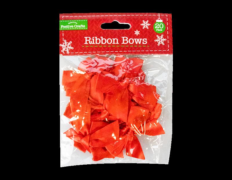 Ribbon Bows 20 Pack