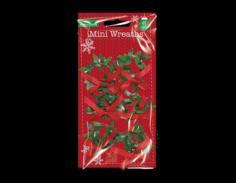 Mini Wreaths 6 Pack