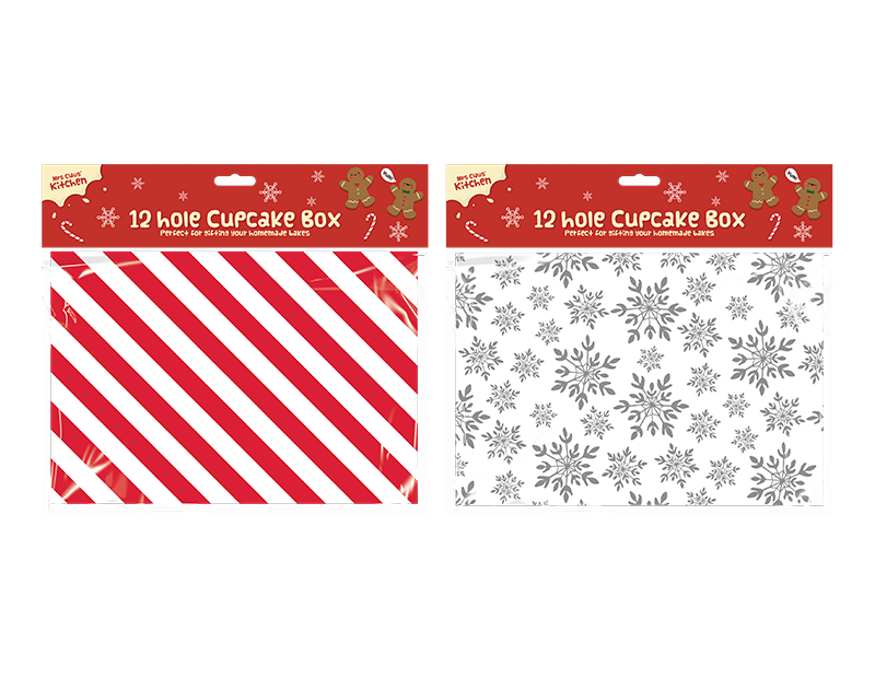 12-hole Cupcake Box
