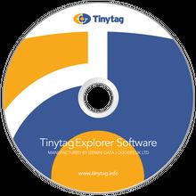 Tinytag Explorer software CD drawing