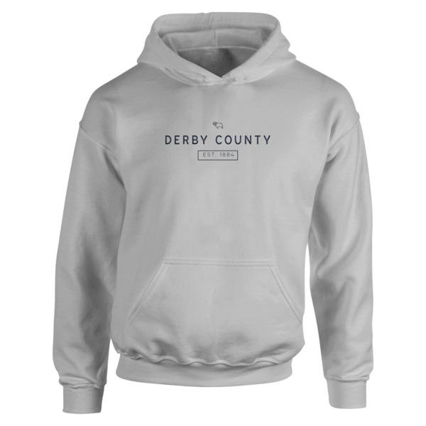 Derby County Minimal Hoodie