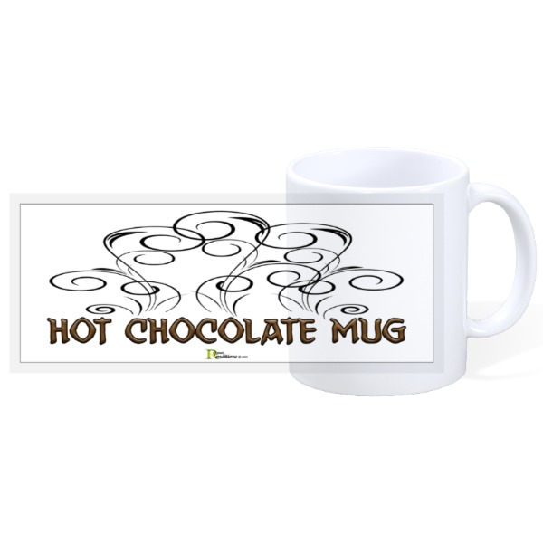 HOT CHOCOLATE MUG - 11oz Ceramic Mug