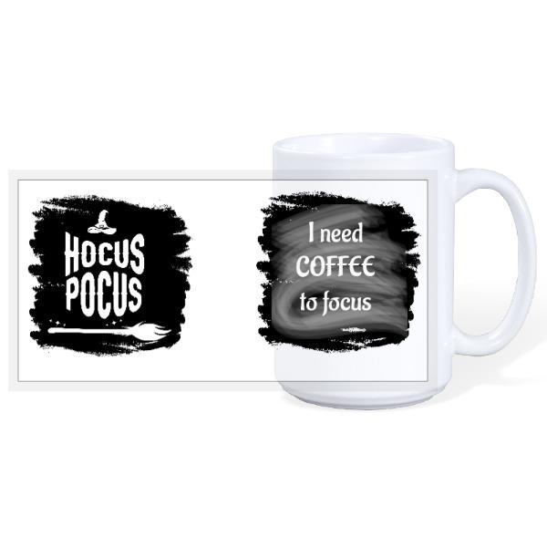 Hocus Pocus mug - 15oz Ceramic Mug