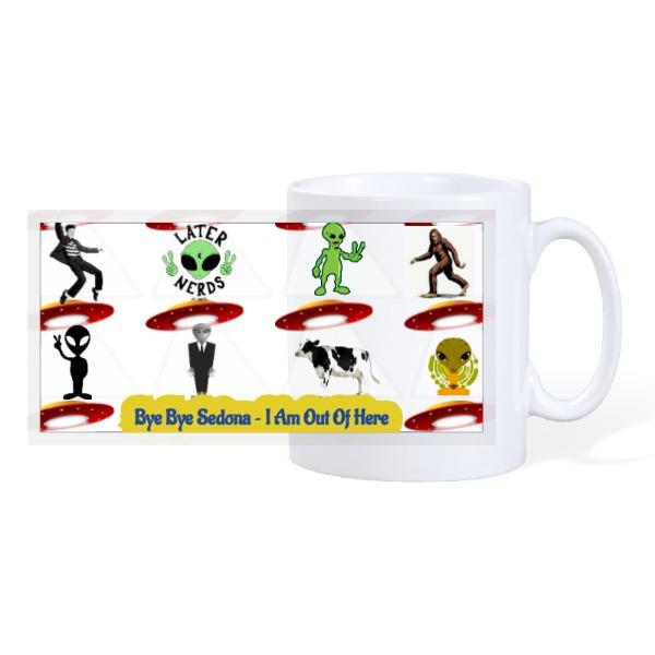 later nerds - 10oz Ceramic Mug