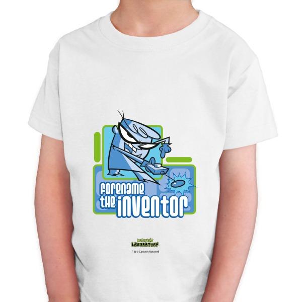 Dexter's Lab Inventor Kids T-shirt