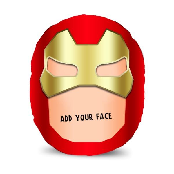 Superhero! - Red & Gold - Upload Your Mush! - Mush Cush!