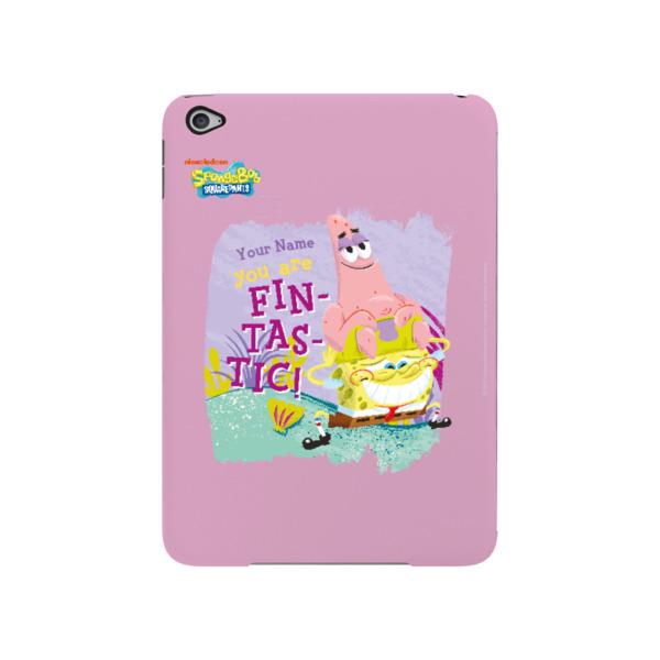 Personalised SpongeBob & Patrick iPad Mini 4 Case - Fin-tastic