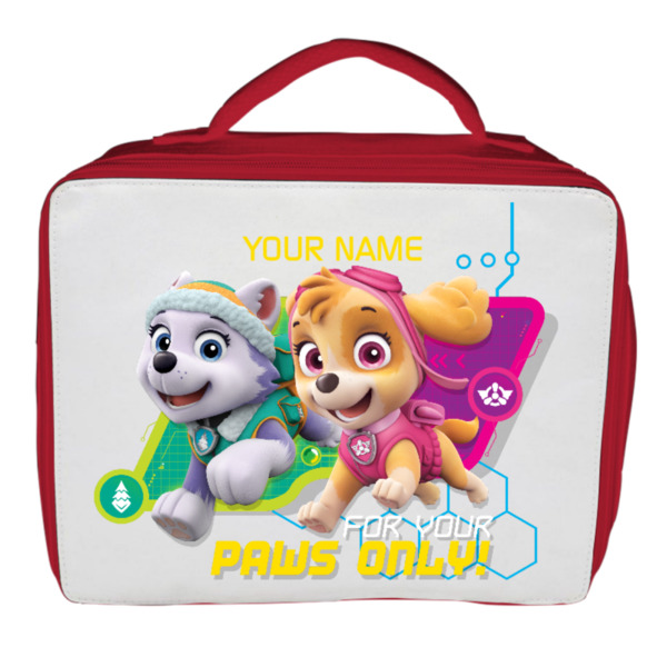 Paw Patrol Personalised Lunch Bag - Spy Skye & Co