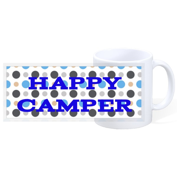 HAPPY CAMPER - 11oz Ceramic Mug