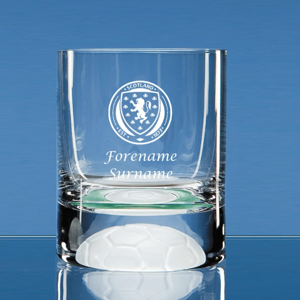 Scotland Crest Ball Base Tumbler
