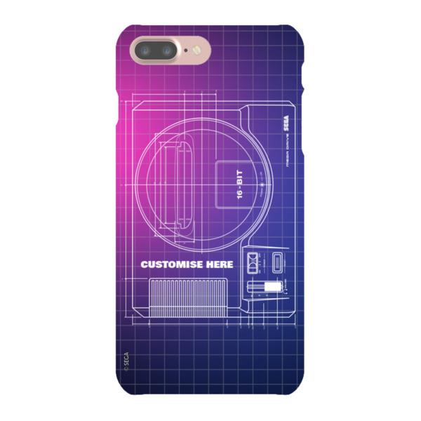 iPhone 7 Plus Case - Megadrive Print - Retro SEGA