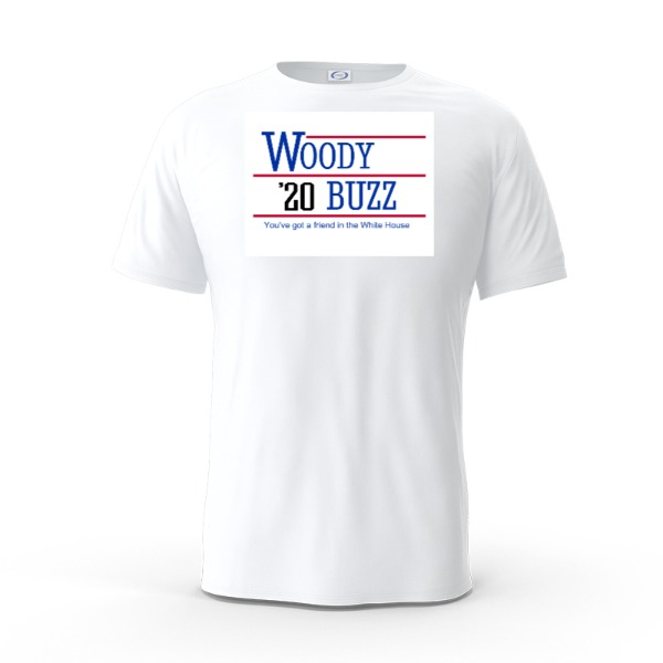 Woody 2020 Shirt - Mens Solar Short Sleeve Small Print Area