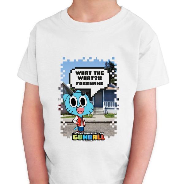 Gumball Pixel Kids T-shirt
