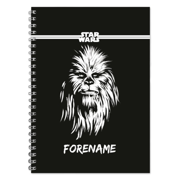 Star Wars Chewbacca Paint A5 Notebook