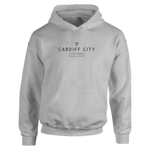 Cardiff City FC Minimal Hoodie