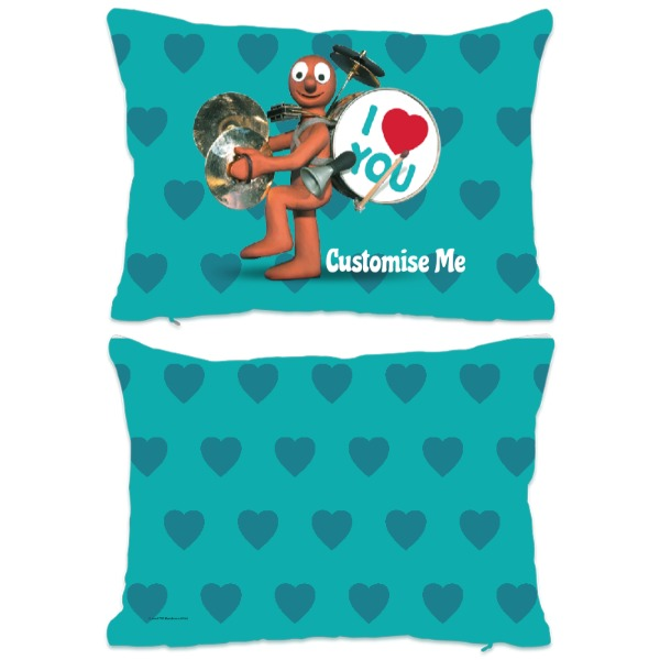 Aardman Morph 'I Love You' Extra Large Fiber Cushion