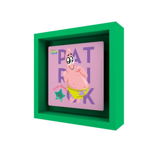 Personalised Patrick Star Easy Frame - Adorable