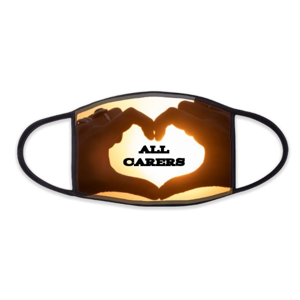 LOVE 4 ALL CARERS - Face Mask- Large