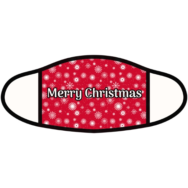 Merry Christmas - Face Mask- Small