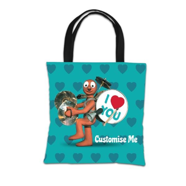 Aardman Morph 'I Love You' Tote Bag