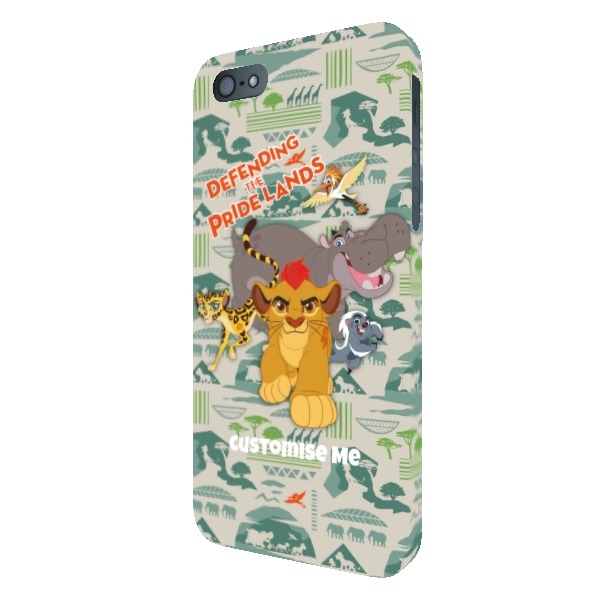 Disney The Lion Guard Group Defending The Pride Lands iPhone 5/5s/5SE Clip Case