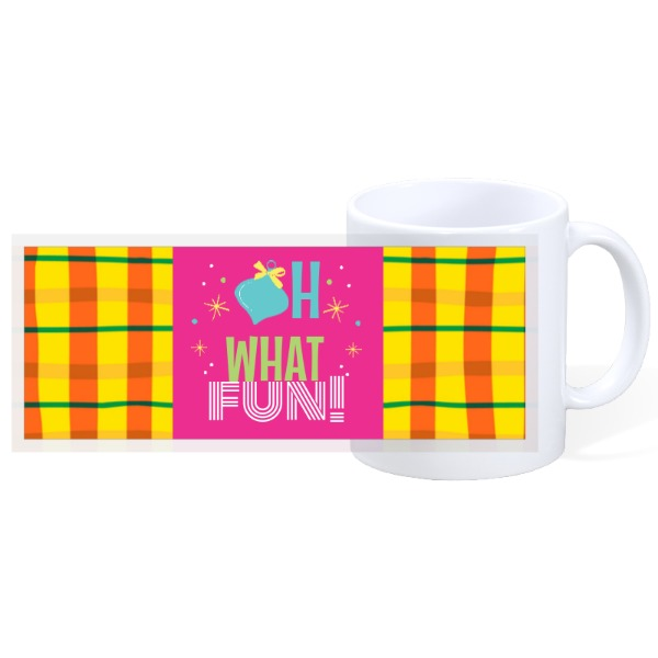 oh what fun - 11oz Ceramic Mug