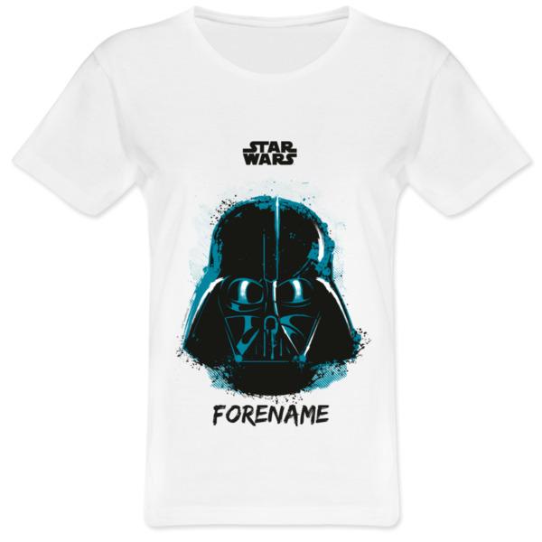 Star Wars Darth Vader Paint Ladies T-Shirt