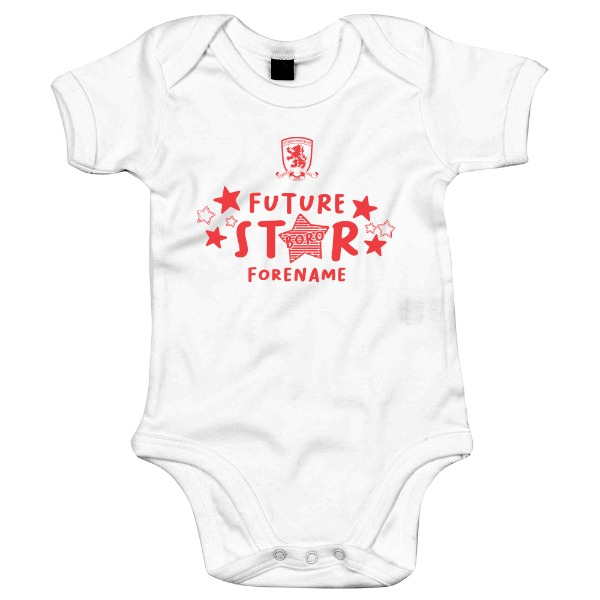 Middlesbrough FC Future Star Baby Bodysuit
