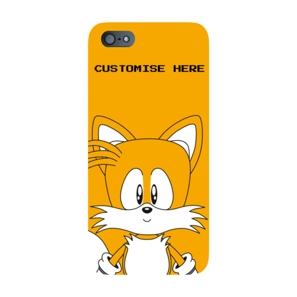 iPhone 5S/SE Case - Tails Face - Classic Sonic