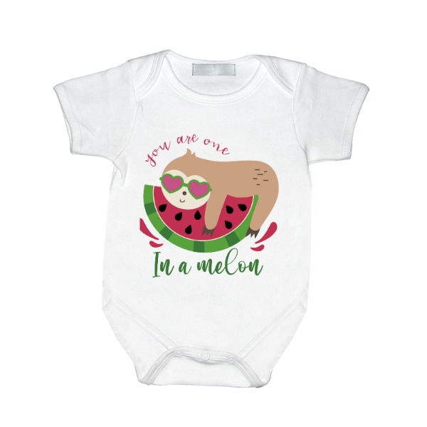 You are one in a melon - Baby One Piece