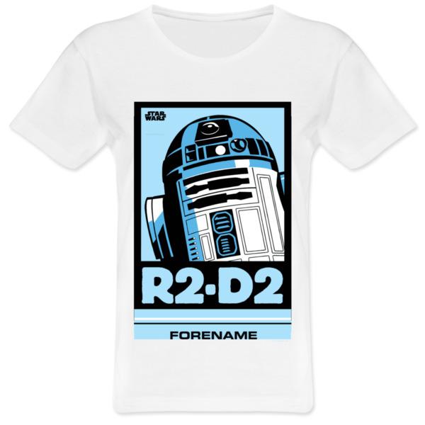 Star Wars R2 D2 Pop Art Womens T-Shirt