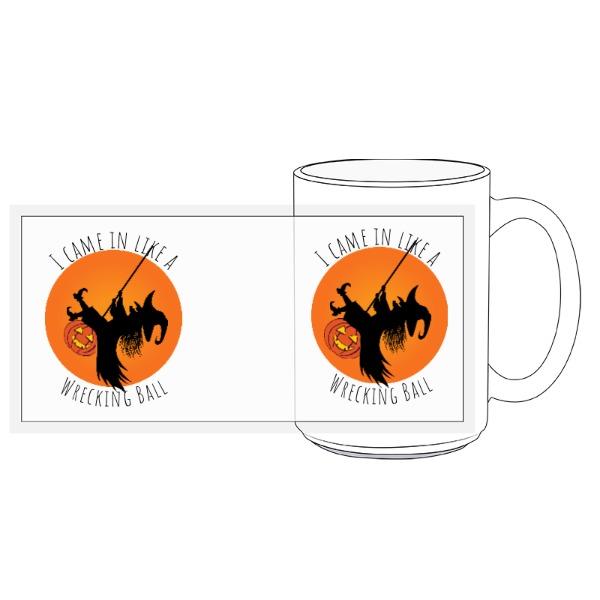 Witch Wrecking Ball - Wrecking Ball Witch - 15oz Ceramic Mug