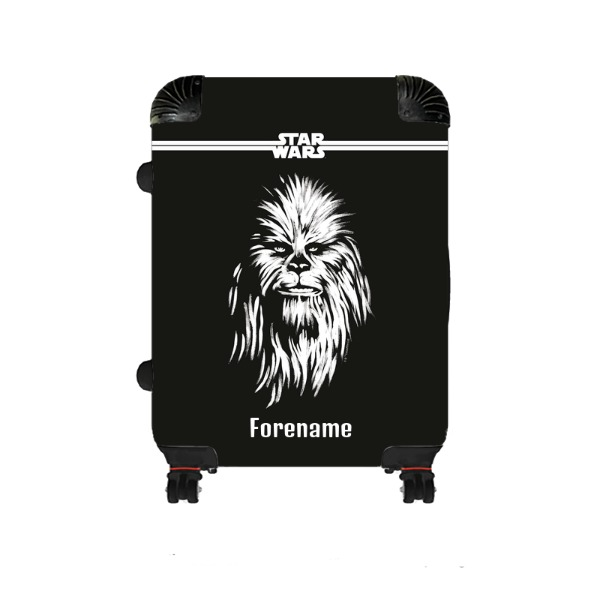 Star Wars Chewbacca Paint Medium Suitcase