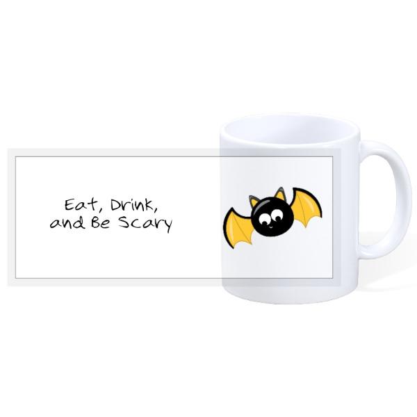 Eat, Drink, and Be Scary - 11oz Ceramic Mug