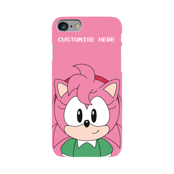iPhone 7 Case - Amy Face - Classic Sonic