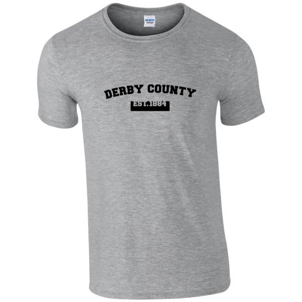 Derby County Varsity Established T-Shirt
